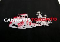 Nadruk - cannabis