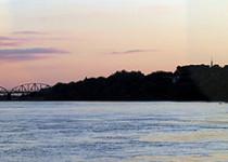 Druk wielkoformatowy - rzeka