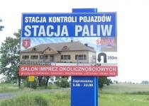 Szyld - stacja