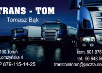 Wizytówka - Trans Tom