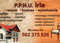 Wizytówka - Irla